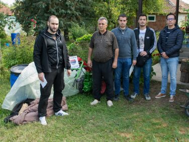 Help for 17 families in Kosovo and Metohija