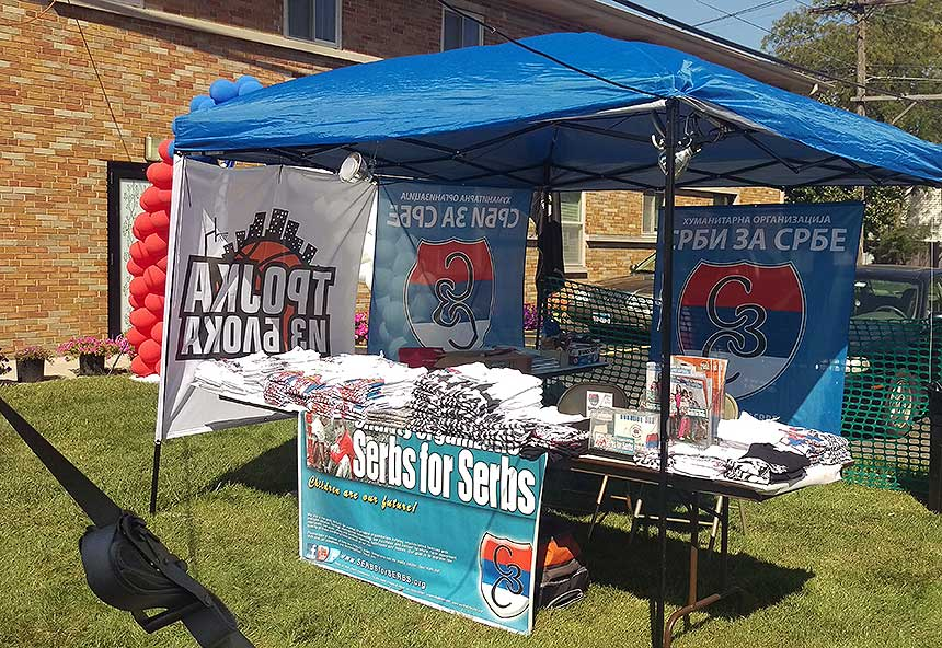 Great success at the Serbfest Brookfield