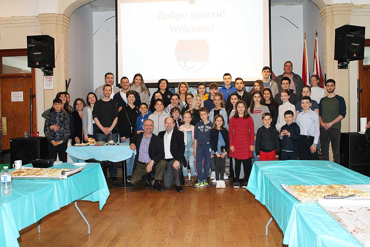 Palacinka party in Canada helping Djuric family from Serbia