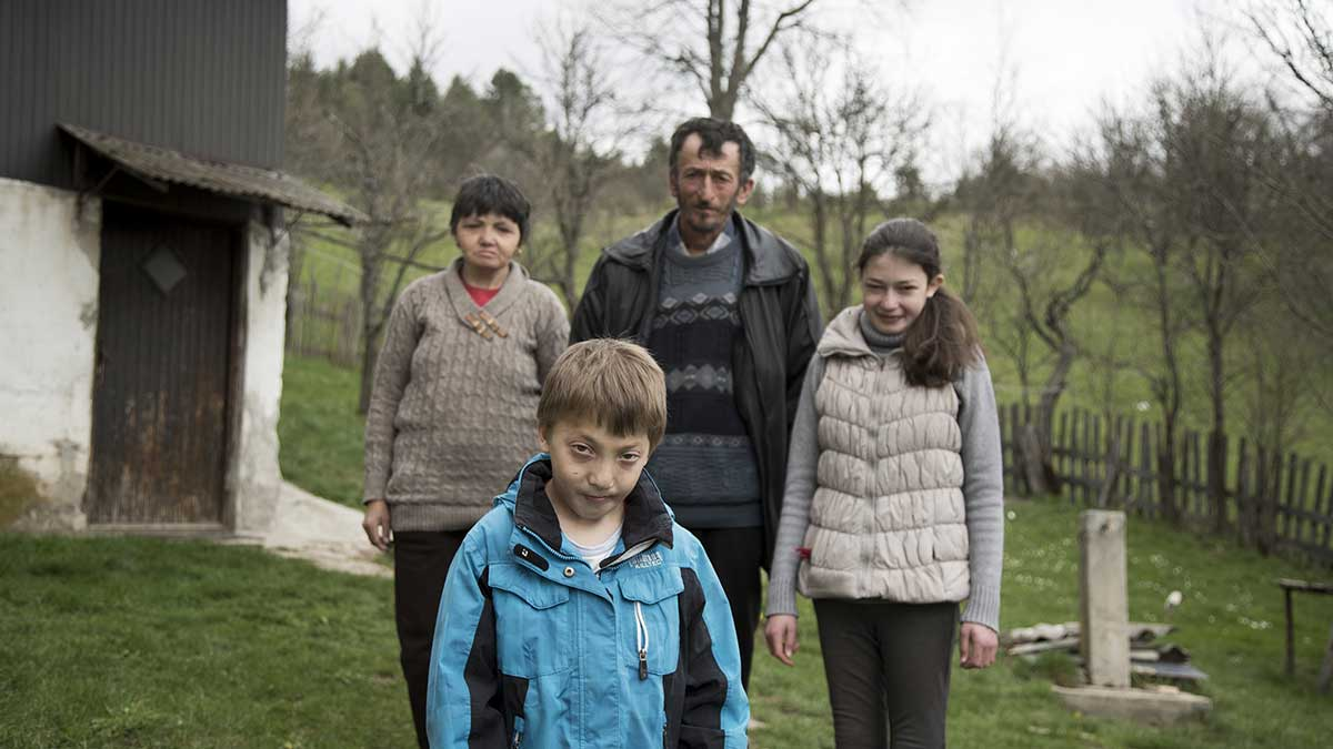 Illness has taken a foothold in the home of the Popadic family from Akmacici by Nova Varos