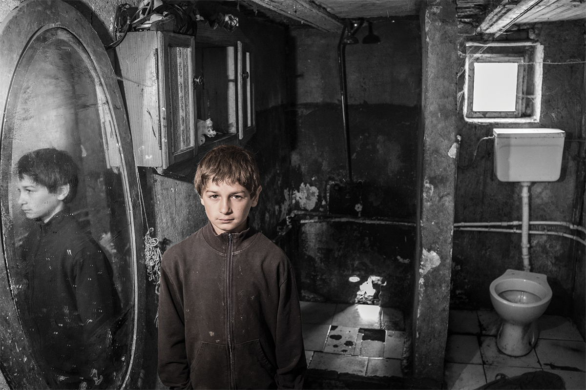 """""""The hardest thing for me is that we can only bathe when the weather is nice"""" – Boban (11) from Banat"""