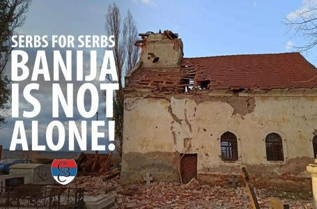 Serbs for Serbs – Banija is not alone!