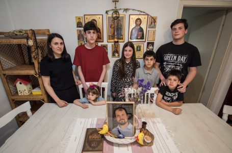 Six children have been left without a father. The Grbićs from Zemun need our help!